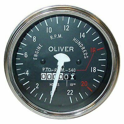 Oliver Tractor Tachometer For 55 Supergasdiesel 66 Rc Super 77 Rc550