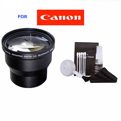 58Mmm 3 6X  Professional Telephoto Zoom Lens For Canon Eos Rebel Digital Camera