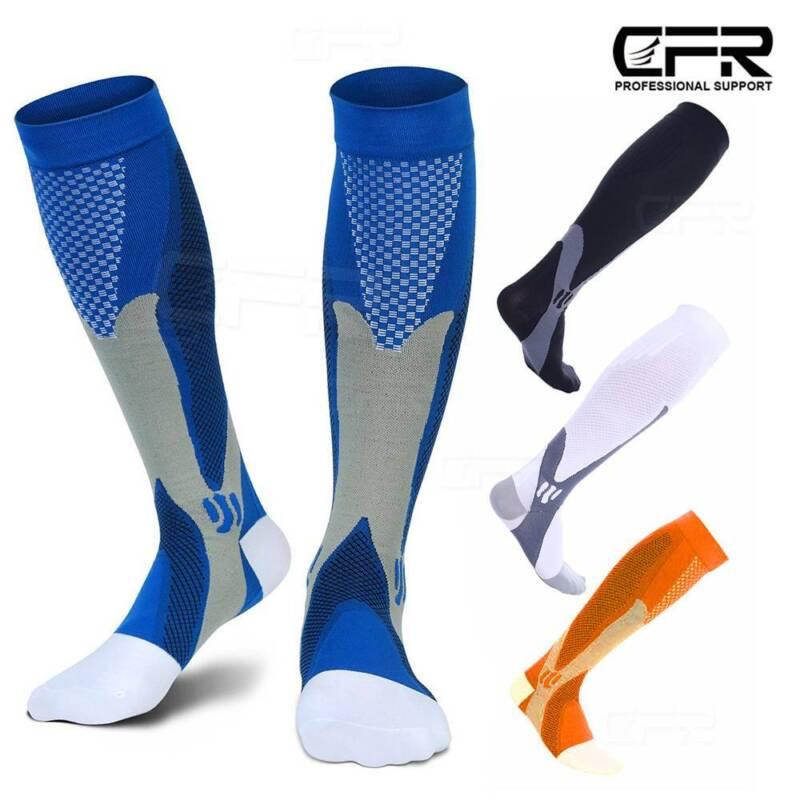 Copper Knee High Compression Socks 20-30mmHg Graduated Men W