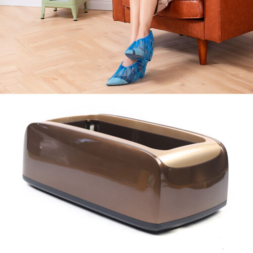 Automatic Shoe Cover Dispenser Machine Waterproof Home Carpet Cleaning Cover US