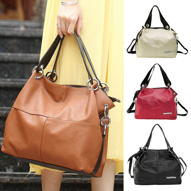 $11.99 - Women Designer Handbag Set Leather Shoulder Messenger Tote Purse Ladies Bags