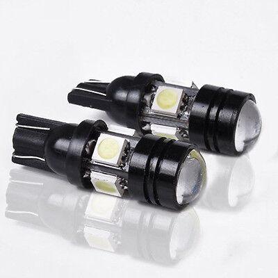 20w Glühlampe (Auto T10 LED W5W 196 168 LED Auto Glühlampe 12V 20W mit Projektorlinse)