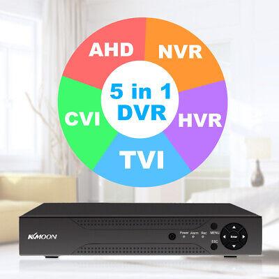 KKmoon 4CH/8CH/16CH 1080P Hybrid AHD DVR 5-in-1 Digital Video Recorder P2P Onvif