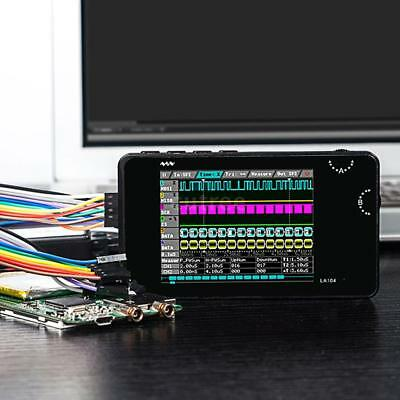 "Mini DSO LA104 Digital Logikanalysator Portable 2,8"" 4 Kanäle Oszilloskop X3L3"
