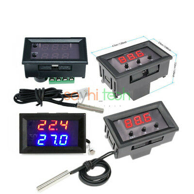 W1209 W1209wk Digital Thermostat Temperature Controller Sensor Switch With Case