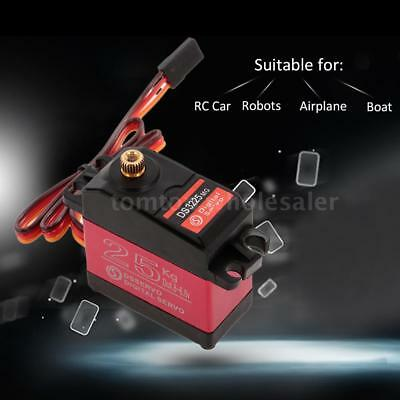DSSERVO DS3225 25KG Metal Gear High Torque Waterproof Digital Servo for RC Z3U0 comprar usado  Enviando para Brazil