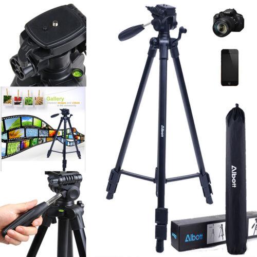 162cm Kamerastativ Foto Stativ für Sony Canon Nikon Olympus Kamera Handys Tripod