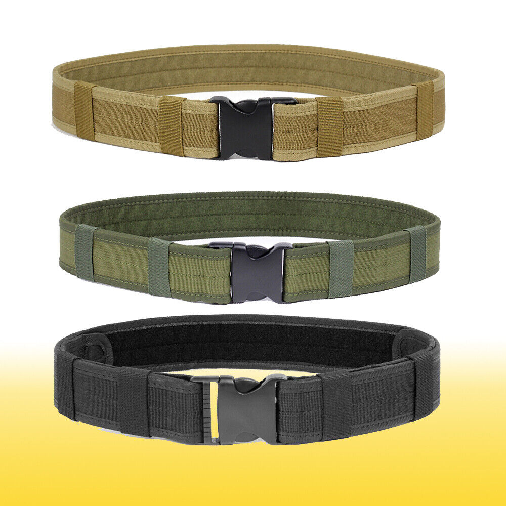 Multifunction Military Utility Nylon Belts Police Security Tactical Combat Gear Belts