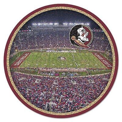 FLORIDA STATE SEMINOLES DOAK CAMPBELL STADIUM TEAM PUZZLE 500 PIECES BRAND NEW  - Florida State Doak Campbell Stadium