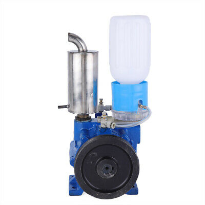 110v Vacuum Pump Cast Iron For Cow Milking Machine Milker Bucket Tank Barrel Usa