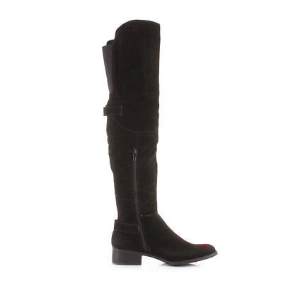 Knee high boots should keep you extra warm