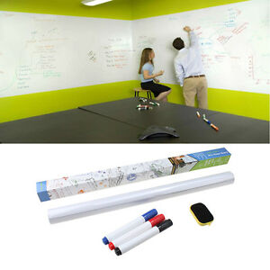 dry erase board removable wall paper sticker decal