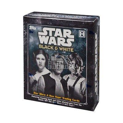 2018 Topps Star Wars Black & White: A New Hope Hobby Box