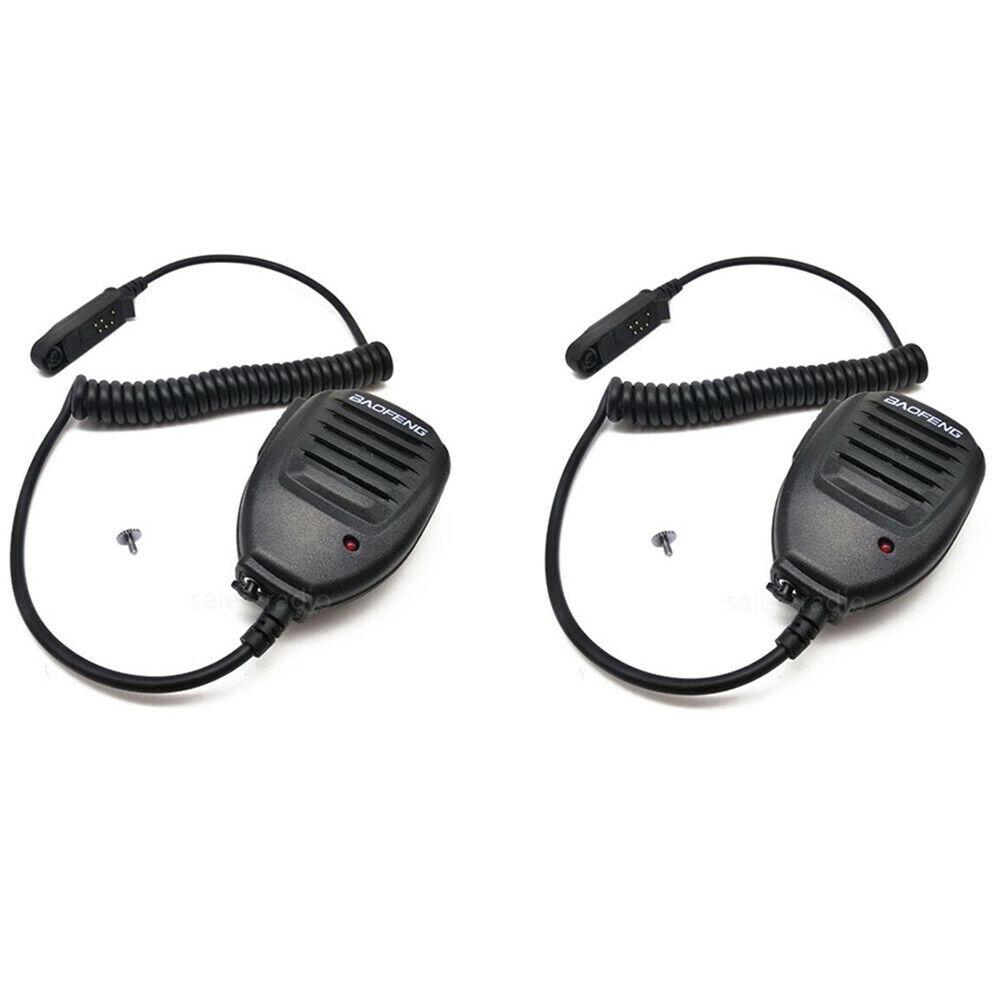 Details about 8X Baofeng Waterproof Speaker Microphone UV-8R PLUS BF-8700  Walkie Talkie Radios