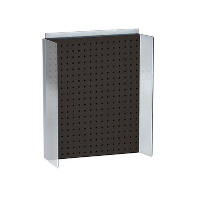 New Retails Black Pegboard Powerwing Display 16w X 20.25high