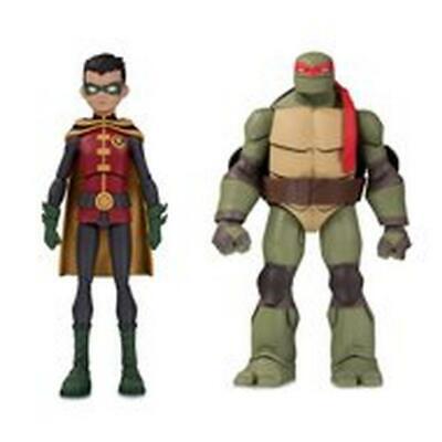 Robin and Raphael 2 pack TMNT Batman v Teenage Mutant Ninja Turtles figures