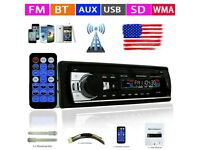 Car Radio Auto Audio Stereo 12V Support FM SD AUX USB