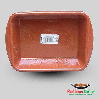 Spanish Terracotta Lasagne Dish - 18cm x 14cm