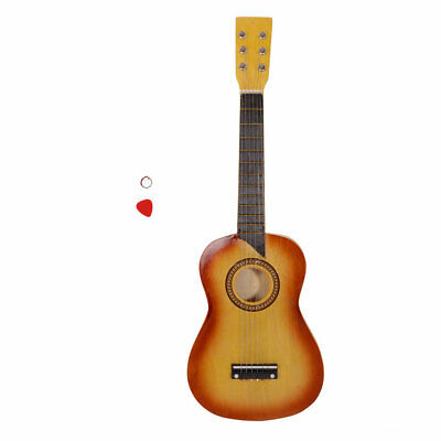 """5 Pieces 25"""" Acoustic Guitar Pick String Jacinth With Red Pick"""