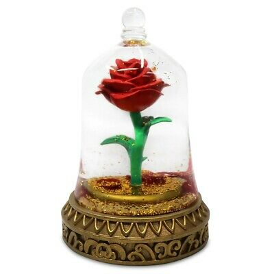 Disney's Beauty and Beast - Enchanted Rose Snowglobe with Pedals