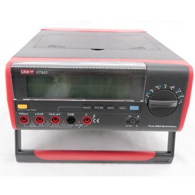 Ut803 True Rms Auto Range Bench Type Digital Multimeter With Rs232