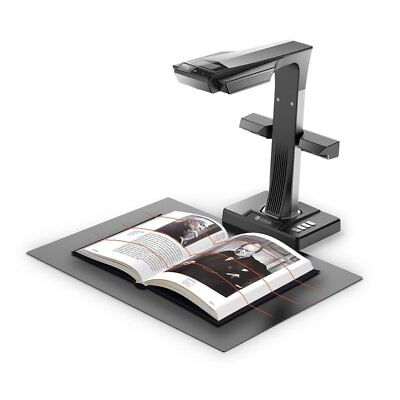 ET16 Plus Book and Document Smart Scanner with Hand & Foot Pedal For Computer