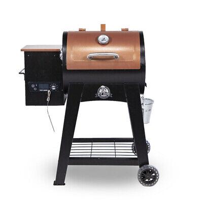 Pit Boss Pellet Grill Flame Broiler Meat Probe Lexington Wood Smoker 500 sq in