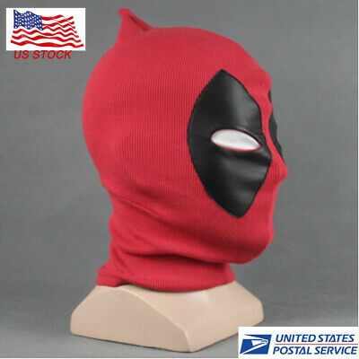Women&Men Deadpool Cosplay Mask Costume Prop Mask X-Men Balaclava Cosplay Party