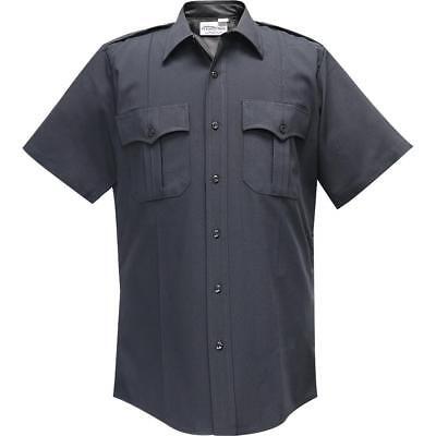 Flying Cross Women's SS Uniform Shirt w/concealed Zipper_100% -