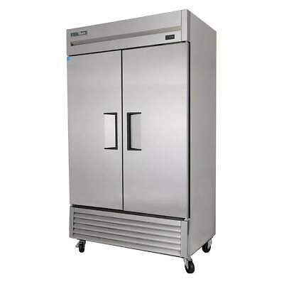 True T-43f-hc 47 Two Section Reach-in Freezer 2 Solid Doors 115v