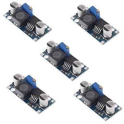 5 x DC Spannung Step-Down Schaltregler Netzteil Modul Wandler Konverter LM2596S
