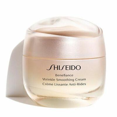 Shiseido Benefiance Wrinkle Smoothing Cream 1.7 oz / 50ml Full Size New in Box