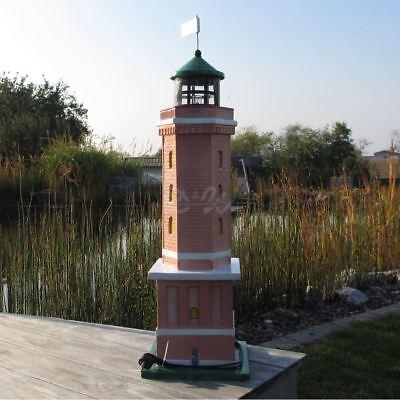 LEUCHTTURM NORDERNEY 98 cm Deko Garten Figur NORDSEE MEER MARITIME Dekoration