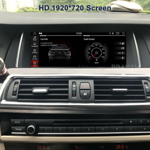 Android10 Screen 1920HD Car Multimedia GPS Navigation BMW 5Series F10 Carplay 4G