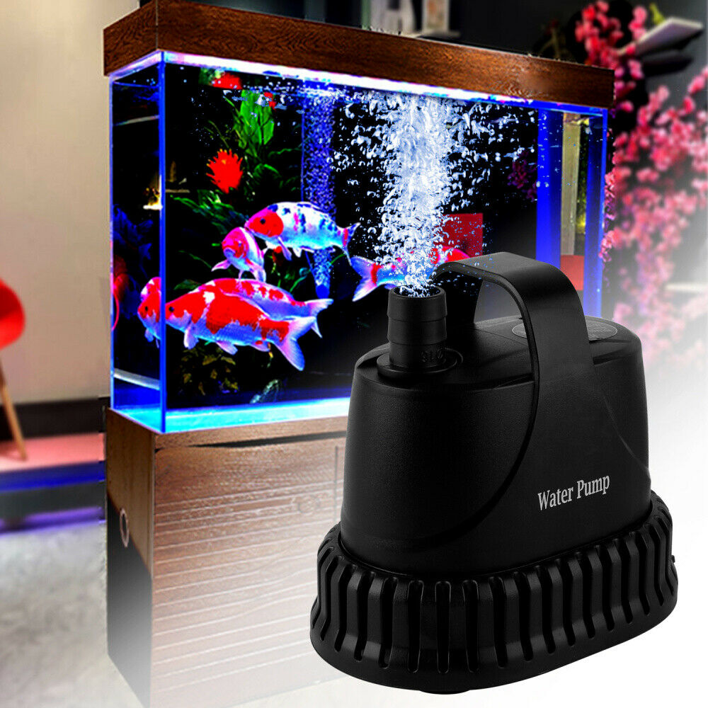 Teichpumpe ECO Bachlaufpumpe Filterpumpe Aquarium Wasserpumpe Tauchpumpe 40W