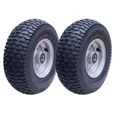 13x5.00-6 grass tyre on wheel rim - lawnmower- quad ATV trailer- Deli - set of 2