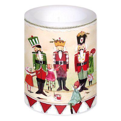 *SILKE LEFFLER*Weihnachten*Große Lampion & Dekorkerze*Kerze*Nussknacker*