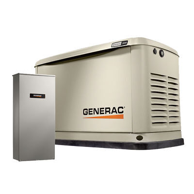 Generac 7039 20/18KW Guardian Standby Generator w/ Automatic Transfer Switch New