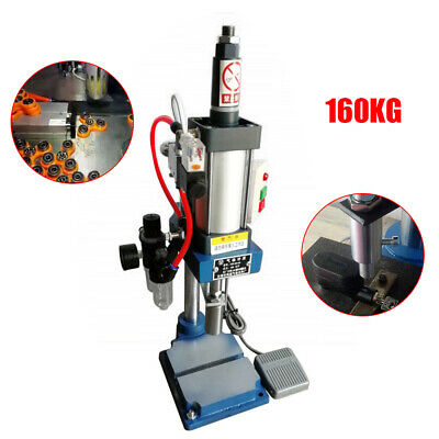 Us 160kg Pneumatic Punch Press Machine Small Desktop Punching Machine Press 110v