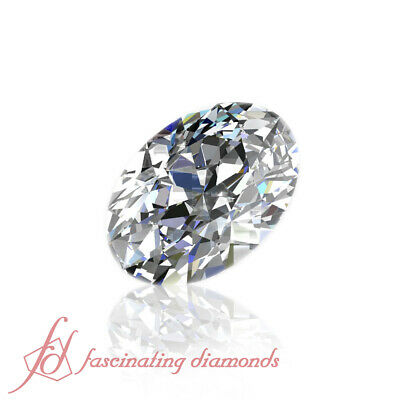 Design Your Own Ring With The Natural Diamond - 0.65 Carat Oval Shaped Diamond