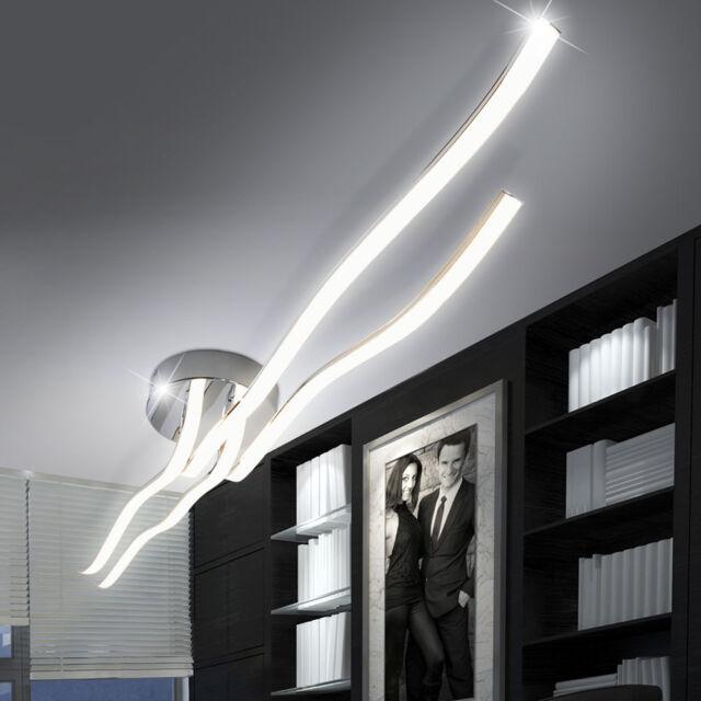 LED 44Watt Design Decken Wohnzimmer Leuchte IP20 Flur Lampe Wellen Licht ANGEBOT