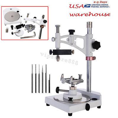 Dental Lab Parallel Surveyor Equipment Tools Handpiece Holder Adjustable Usa