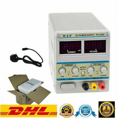 30V 5A Fuente de Alimentación DC Para Laboratorio Regulable Digital Ajustable