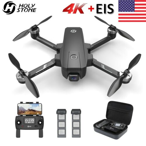 Holy Stone HS720E HS105 4K EIS Drone with UHD Camera Quadcopter 2 Batteries CASE