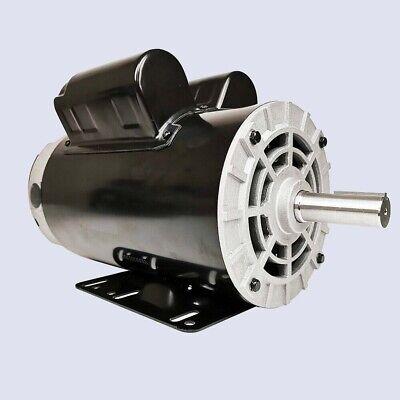 5 Hp Spl Air Compressor Duty Electric Motor 56 Frame 3450 Rpm Single Phase 60 Hz