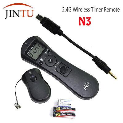 JINTU N3 2.4G Wireless Timer Remote for Nikon D5100 D3200 D3100 D90 D3300 Camera