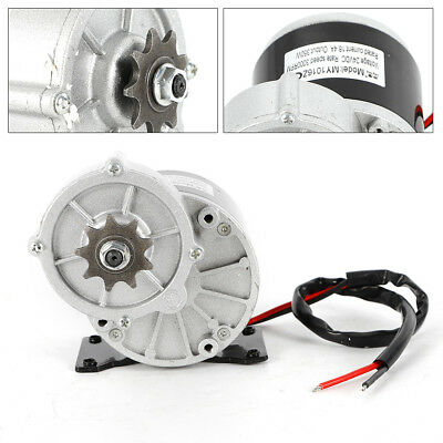 24v Gear Reduction Electric Motor Sprocket Electric Vehicle Geared Motor 300rpm