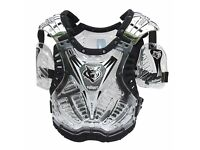 wulfsport motocross quad enduro armour protection adult
