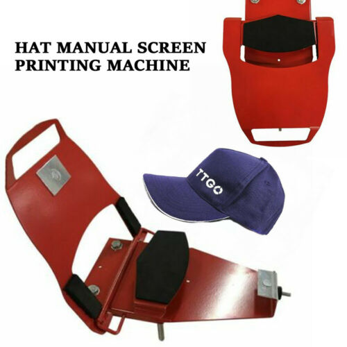 All Type Caps Hat Champ W// Standard Platen Screen Printing Pallet Free Ship