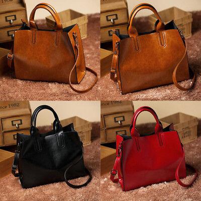 Fashion Tote (Fashion Women Zipper Leather Handbag Tote Purse Messenger Shoulder Bag Satchel)